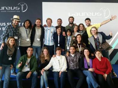 El equipo de Laureus de Latinoamérica.