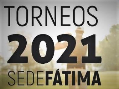 Torneos Golf 2021 - Sede Fatima