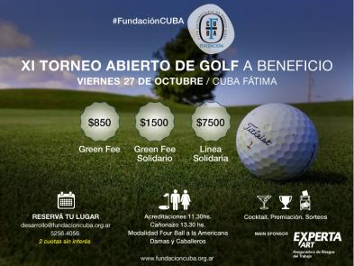 Torneo de Golf a Beneficio