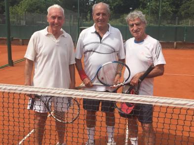 izq a der: Rogelio Castro, Martin Mihura y Jorge Peñalba
