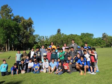 Campamento en Deporte y Valores
