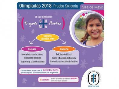 Prueba Solidaria en Villa de Mayo