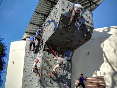 curso avanzado de escalada