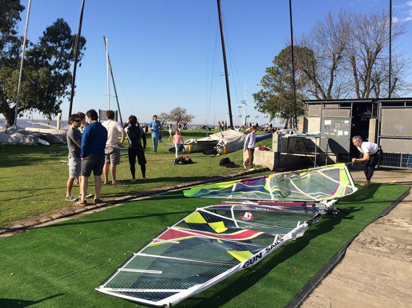 Arrancando la temporada de Windsurf