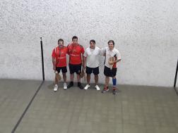 Finalistas. Centro Vasco Frances y Centro Navarro
