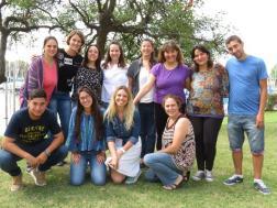 El staff de la Fundación