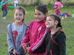 Las nenas disfrutando entre amigas
