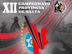 XXII Campeonato Provincia de Salta, sábado 23 de septiembre.